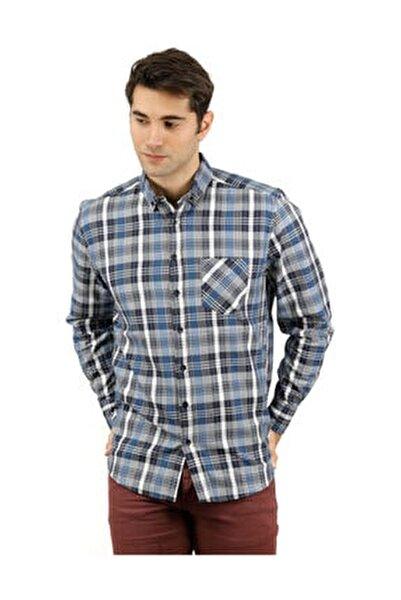 B3015 Ekose Erkek Uzun Kollu Gömlek