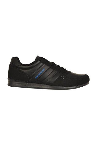 DUNLOP 108104M Siyah-S Cilt Ortopedik Günlük Erkek Spor Ayakkabı