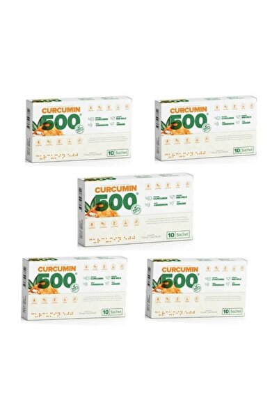 Curcumin 500 Detox 50 Şase 5 Kutu