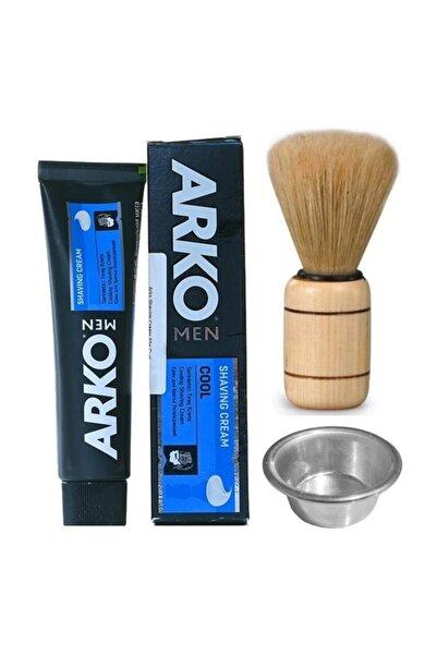 ARKO Men Comfort Tıraş Kremi 100gr Tıraş Fırçası Tas Seti  7440000712904