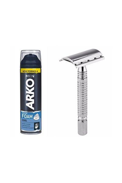 ARKO Men Cool Traş Köpüğü  200 ml  Tıraş Bıçağı Jilet Seti 7440000712905