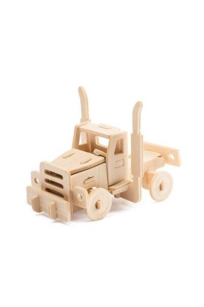 Robotime 3d Ahşap Puzzle Kamyon- Jp145