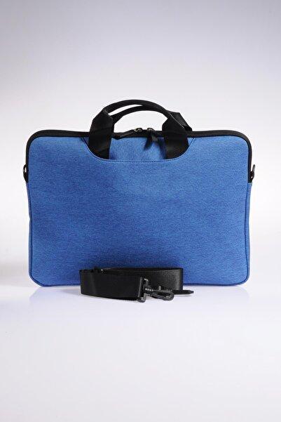 ÇÇS Mavi Unisex Laptop/Evrak Çantası Ççs71364