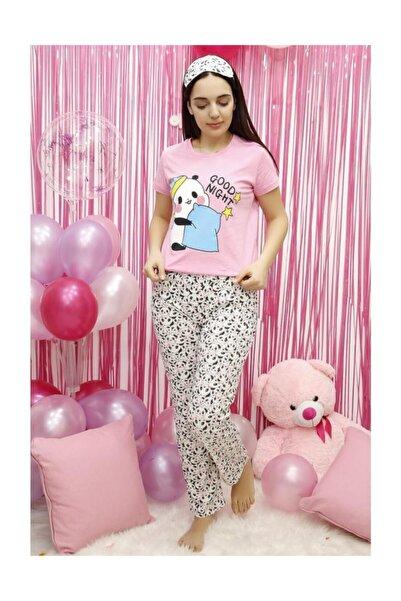 Lukas Kadın Pijama Takımı Pembe - 5035.1059.