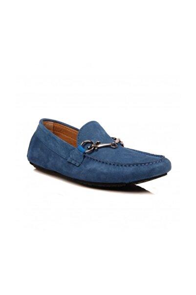 Cesare Paciotti Erkek Loafer Ayakkabı Mavi Hhmu4