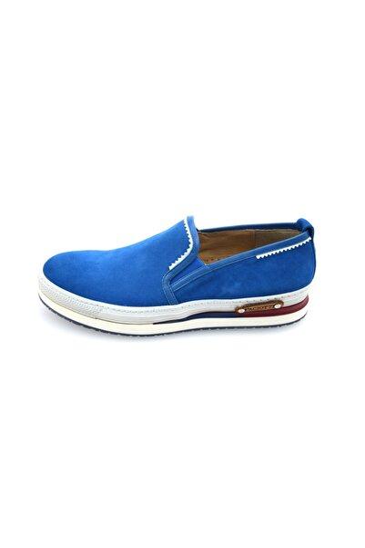 Cesare Paciotti Erkek Loafer Ayakkabı Mavi Llnu3