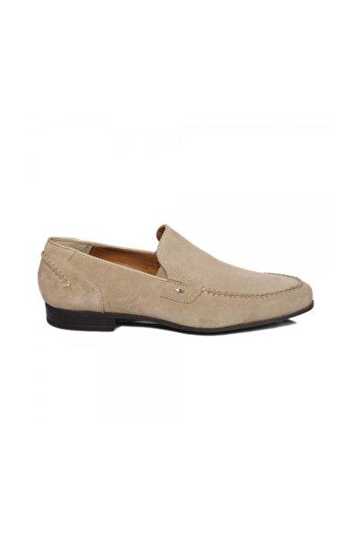 Cesare Paciotti Erkek Loafer Ayakkabı Bej Llru6