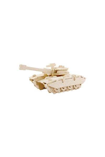 Robotime 3d Ahşap Puzzle Tank - Jp234