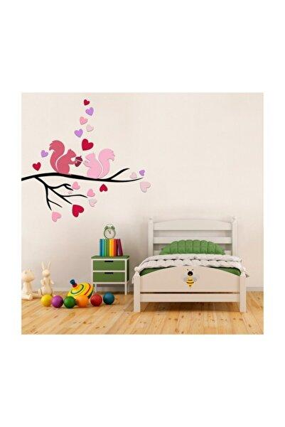 Artikel Aşık Sıncaplar Duvar Sticker, Çocuk Odası Sticker,duvar Dekorasyonu