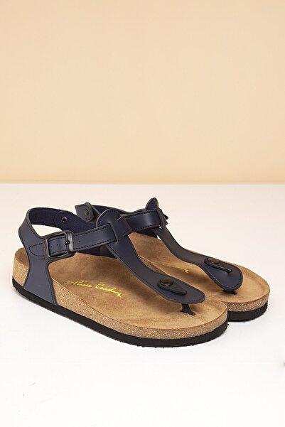 Pierre Cardin Pc-5056 Lacivert Kadın Sandalet