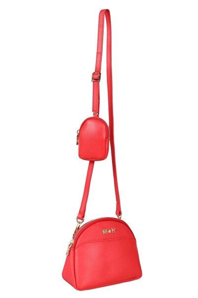 Beverly Hills Polo Club Kadın Omuz Çantası Kırmızı