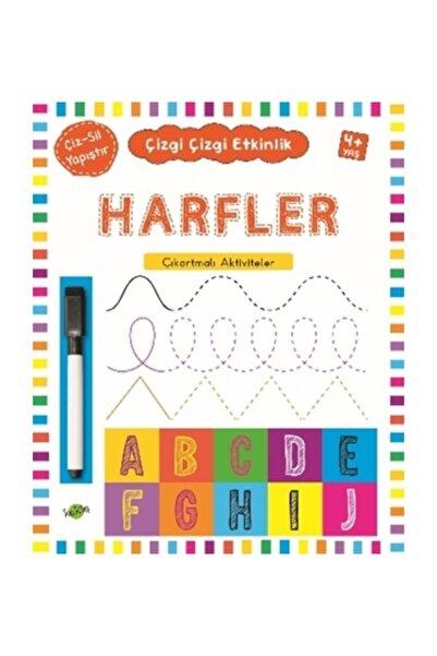 Kukla Yayınları Harfler (4 Yaş+) / Çıkartmalı Çizgi Çizgi Etkinlik - Kolektif