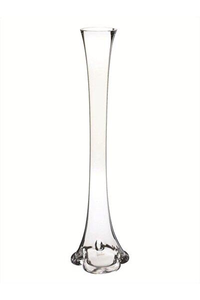 Nettenevime Fil Ayağı Vazo Cam Vazo 60 cm Ince Belli Vazo