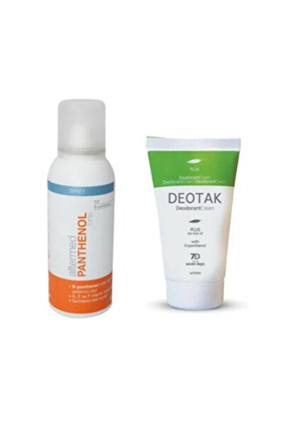 Deotak Krem Deodorant Plus 35 ml+Altermed Panthenol Forte Spray 150 ml