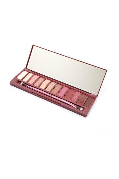 Pretty Beauty 12'li Göz Farı - Naked Cherry Eyeshadow Palette 8697406107178