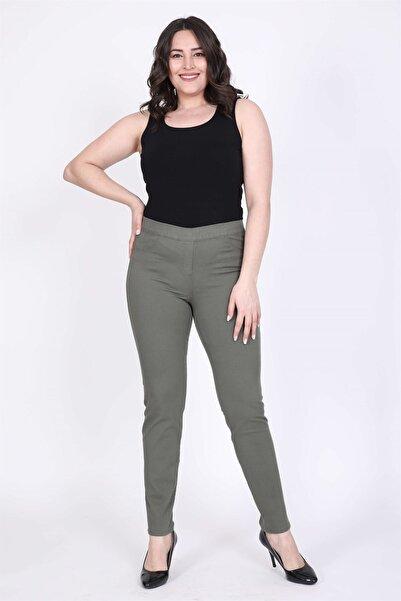 MYLİNE Kadın Beli Lastikli Pantolon