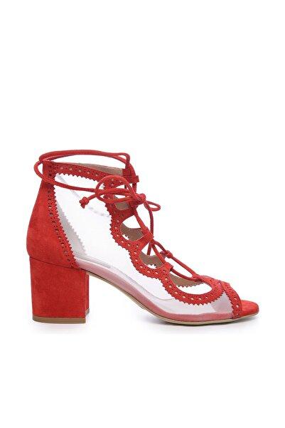 KEMAL TANCA Hakiki Deri Kırmızı Kadın Ayakkabı 26 47306 BN AYK