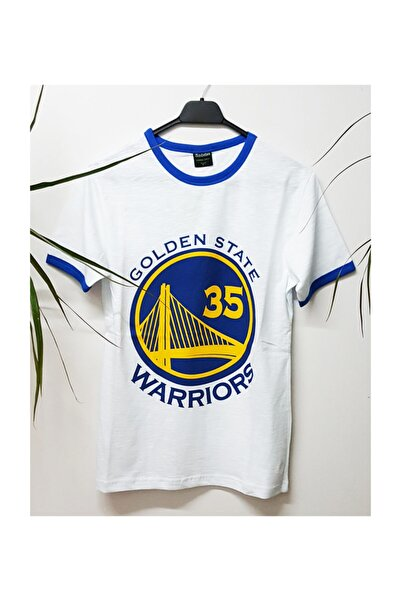 Köstebek Nba Golden State Warriors - Kevin Durant 35 Unisex T-shirt
