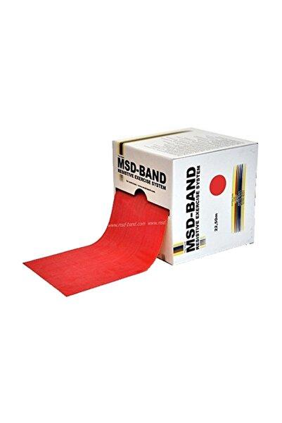 Moves Theraband Egzersiz Bandı, Pilates Direnç Bandı Kırmızı (orta Hafif)