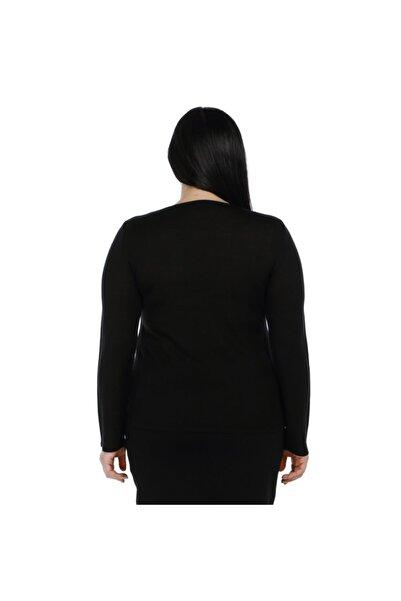 Kadın Kristal Taş El Işçliği Triko Bluz