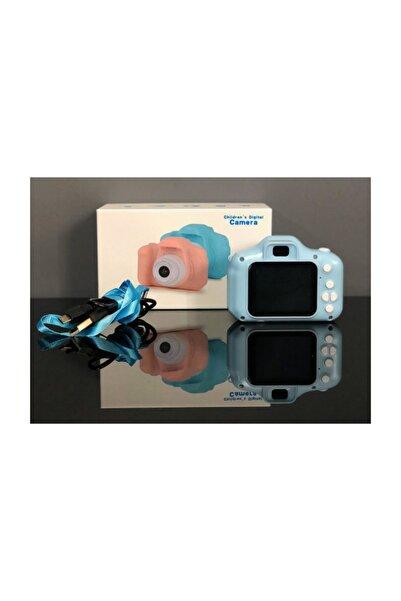 BLUE İNTER Cmr9 Çocuklar Için Mini Hd 1080p Dijital Fotoğraf Makinesi