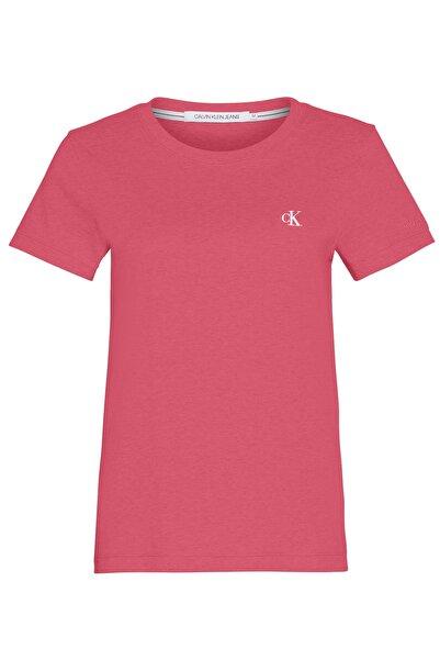 Calvin Klein Açık Gri Slim Fit Kadın T-shirt