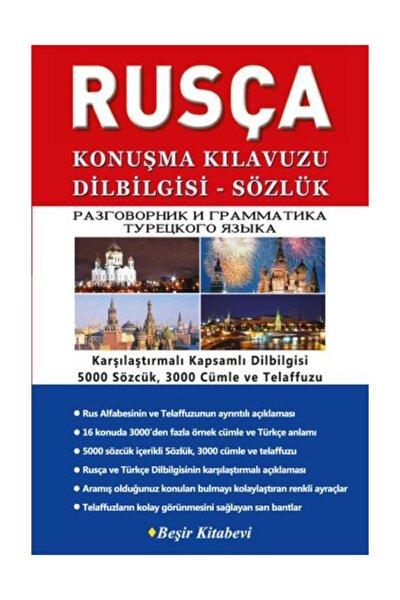 Beşir Kitabevi Rusça Konuşma Kılavuzu Dilbilgisi-sözlük B. Orhan Doğan