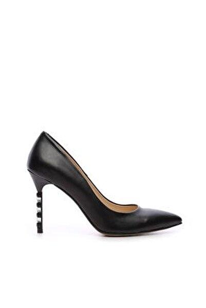 Kemal Tanca Kadın Vegan Stiletto Ayakkabı 22 6224 BN AYK Y19