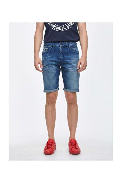 Ltb Lance Montone Wash Erkek Jeans Şort