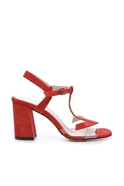 KEMAL TANCA Hakiki Deri Kırmızı Kadın Ayakkabı 94 3134 BN AYK Y19