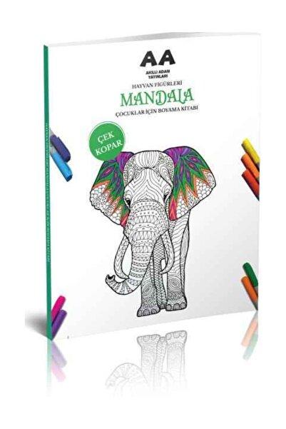 Akıllı Adam Yayınları Hayvan Figürleri Mandala Çocuklar Için Boyama Kitabı