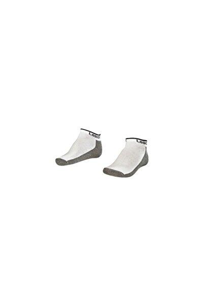 Lescon La-2185 Beyaz 2'li Patik Çorap 40-45 Numara