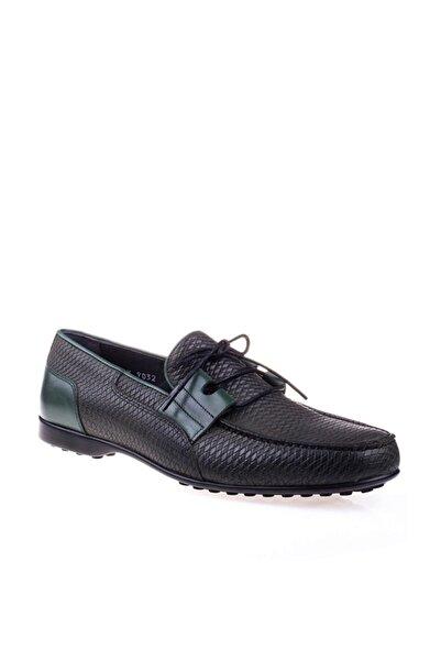 Fosco 9032 Yazlık Kauçuk Erkek Hakiki Deri Günlük Ayakkabı