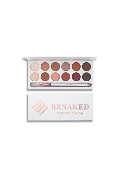 Blueberry Naked Collection Earth 12'li Far Paleti BB Naked Professional Makeup