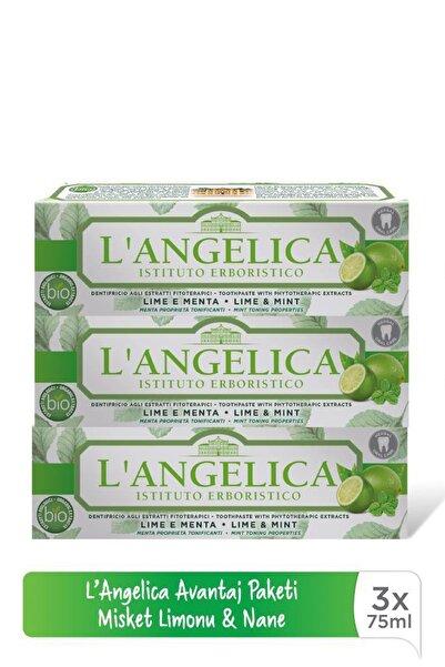 Langelica Misket Limonu & Nane Aromalı Fitoterapi Diş Macunu - Toothpaste with Phytotherapic Extract