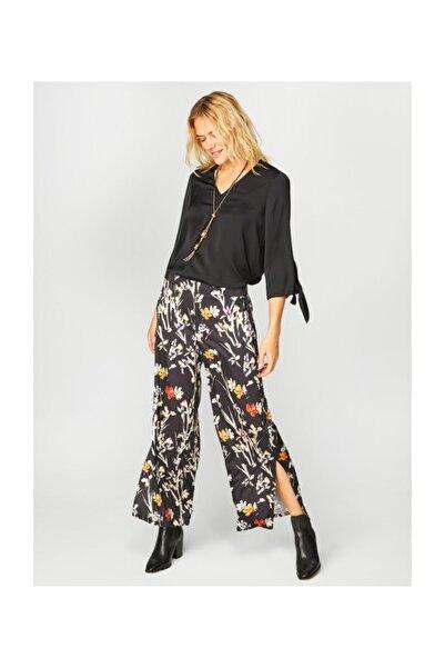 Kadın Siyah Pantolon 39500 U39500