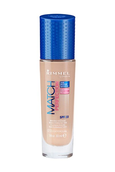 RIMMEL LONDON Fondöten - Match Perfection 10 Light Porcelain 3614220953984