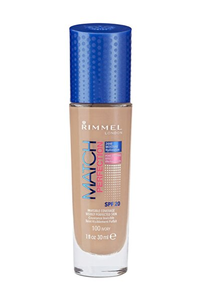 RIMMEL LONDON Fondöten - Match Perfection 100 Ivory 3614220954011