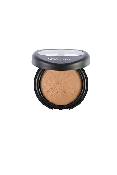 Flormar Terracotta Powder Pudra No 21 Beige With gold 8690604131211