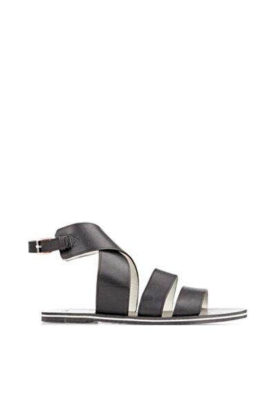 Paul Smith Poole Servo Lux kadın Sandalet Siyah Smpl 0950 Slu