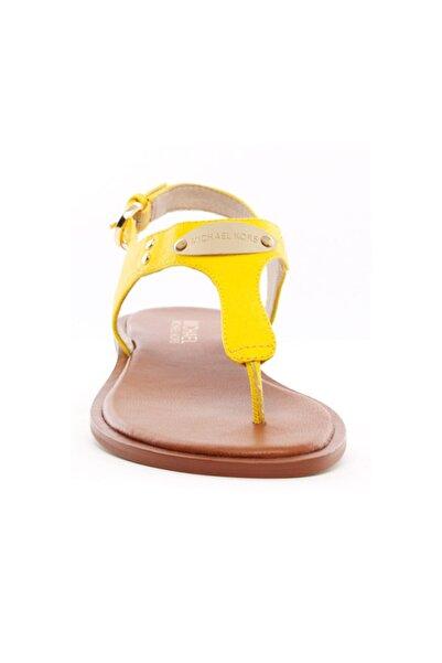 Michael Kors Plate Thong Kadın  Sandalet Citrus 40u2mkfa2l
