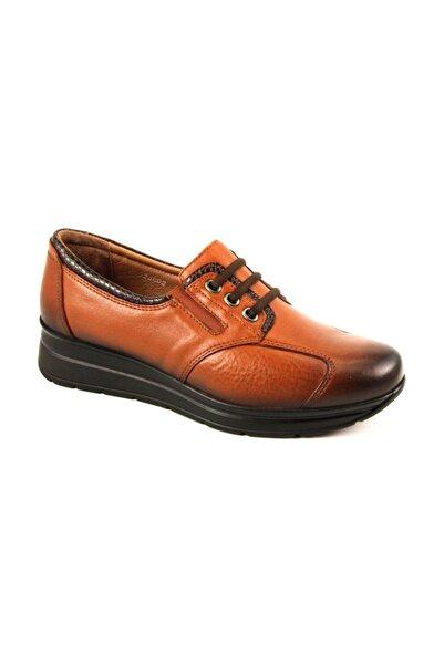Forelli 23802 Kadın Taba Kemik Çıkıntısına Özel Deri Comfort Ayakkabı