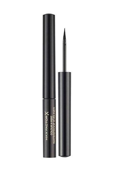Max Factor Suya Dayanıklı Siyah Eyeliner - Color X-pert Waterproof Eyeliner 01 Deep Black 42209522