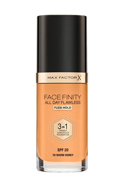 Fondöten - FaceFinity All Day Flawless Foundation 78 Warm Honey 3614227923607
