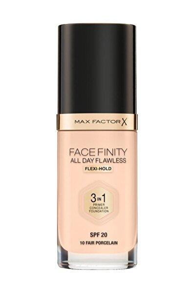 Max Factor Fondöten - FaceFinity All Day Flawless Foundation 10 Fair Porcelain 3614227923201