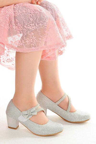 Kiko Kids Kiko 750 Çupra Günlük Kız Çocuk 4 cm Topuk Babet Ayakkabı