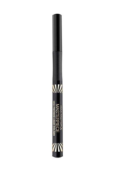 Max Factor Likit Siyah Eyeliner - High Precision Liquid Eyeliner 01 Velvet Black 4084500694293