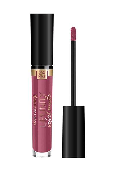 Max Factor Mat Ruj - Lipfinity Velvet Matte Lipstick Rg 005 Matte Merlot 8005610629520