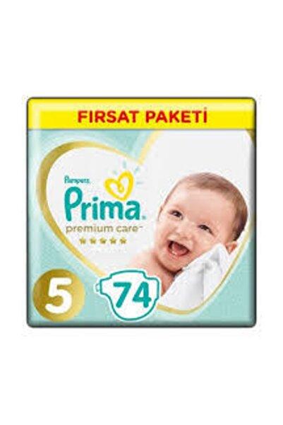 Prima Premium Care Bebek Bezi Premium Care 5 Beden 74 Adet