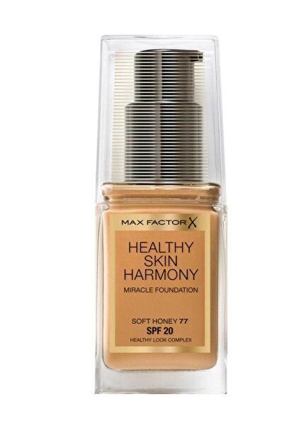 Max Factor Fondöten - Healthy Skin Harmony Miracle Foundation No: 77 Soft Honey 8005610433486